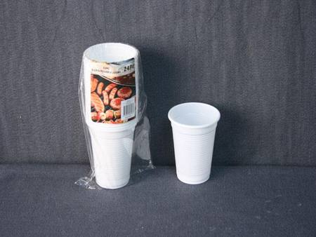 24 PACK DISPOSABLE CUPS 200ML