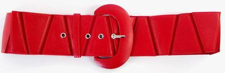TRIANGLES  BELT - RED S-M