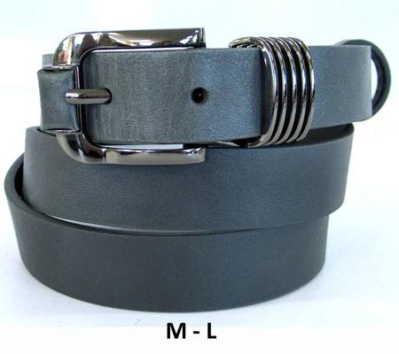 BELT GREY/GUNMETAL M-L