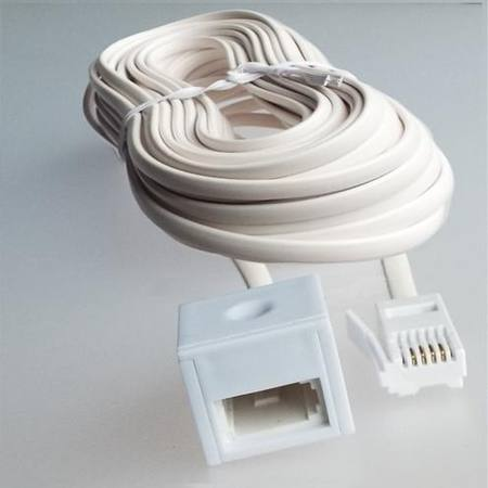 10 METRE TELEPHONE EXTENSION LEAD