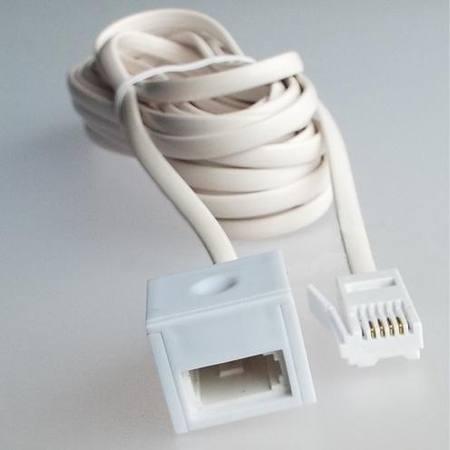 5 METRE TELEPHONE EXTENSION LEAD