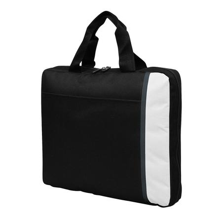 Spectrum Padded Satchel Black/White