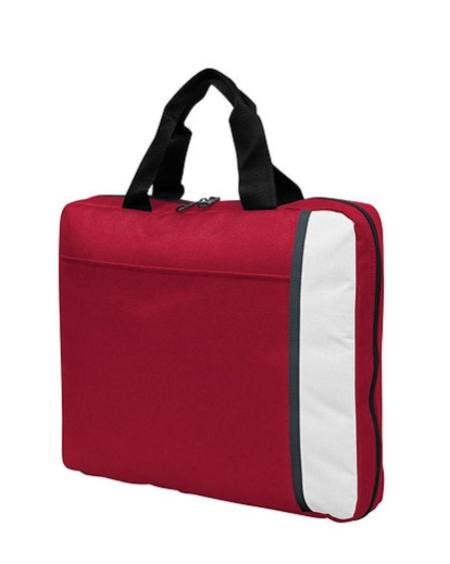 Spectrum Padded Satchel Red/White