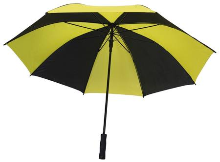BLACK/YELLOW EXTRA LARGE UMBRELLA