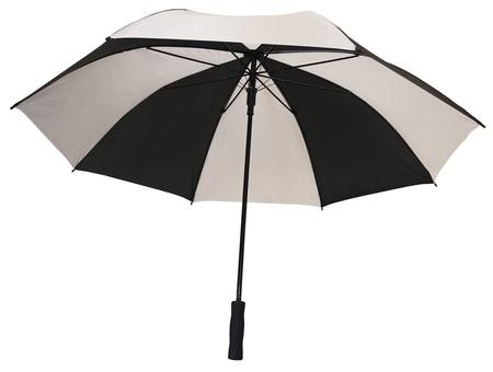 Buy WHITE/BLACK EXTRA LARGE UMBRELLA in NZ.