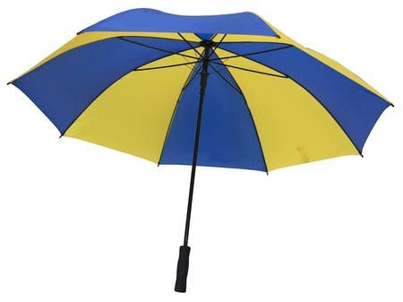 GOLD/BLUE EXTRA LARGE UMBRELLA