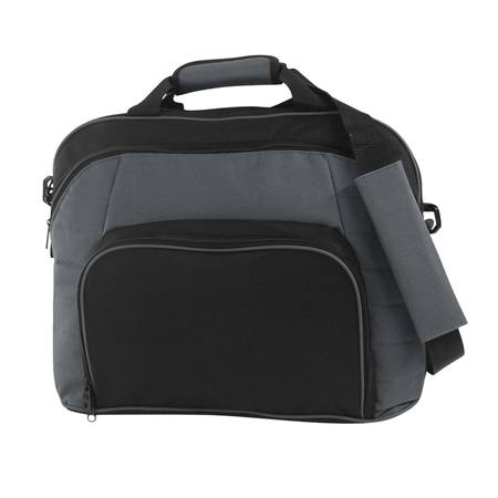 Byte Satchel Black/Grey