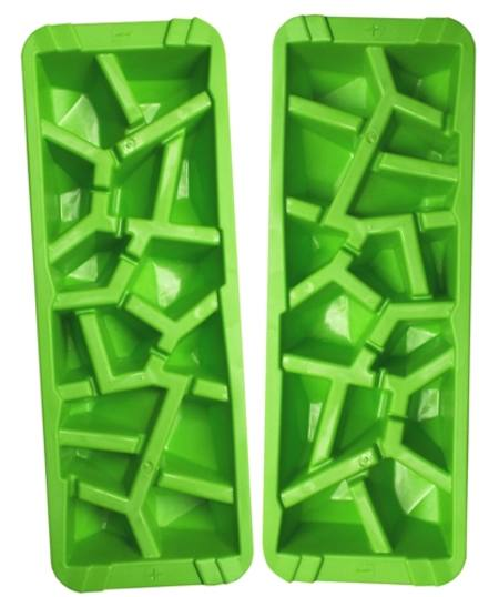 DIAMOND SHAPE ICE CUBE TRAY - PACK OF 2