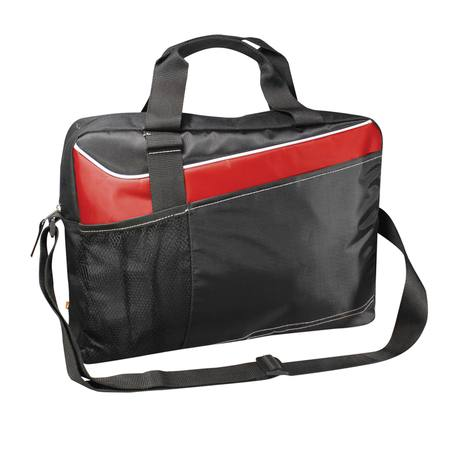 Conference Computer Portfolio Satchel Red
