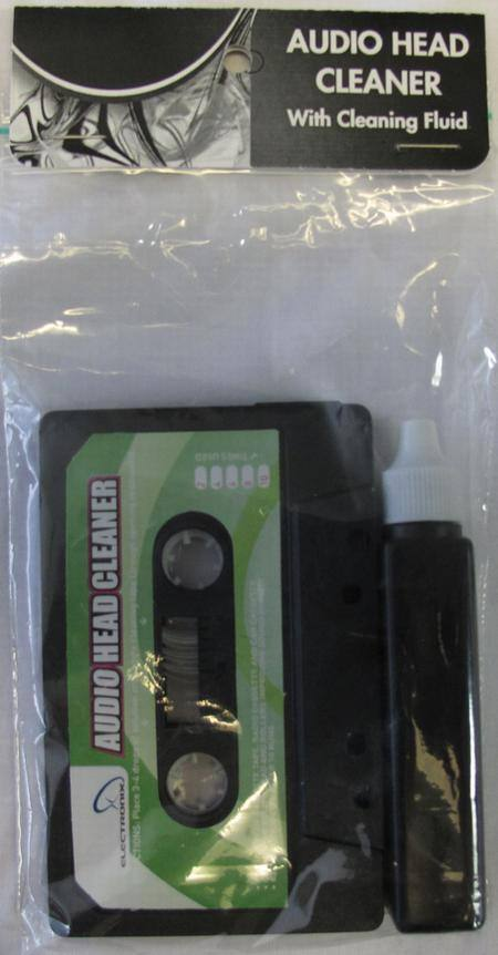 CASSETTE HEAD CLEANER WITH FLUID