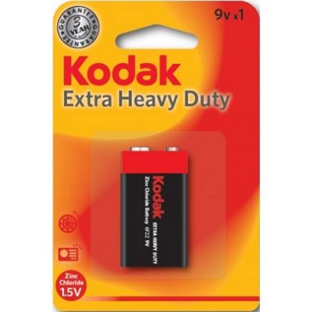 Buy 9V EXTRA HEAVY DUTY KODAK BATTERY CARD OF 1 in NZ.
