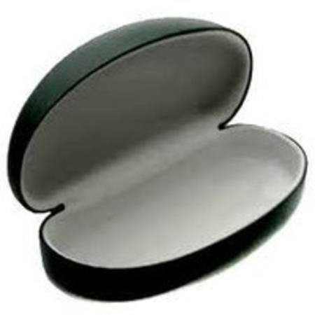 BLACK HARD PROTECTIVE SUNGLASS CASE
