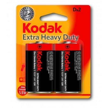 D EXTRA HEAVY DUTY KODAK BATTERY CARD OF 2