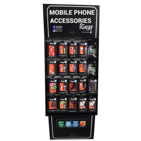 iGear FULL Pop-Up Stand - Accessories Preloaded