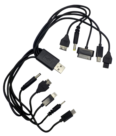 10 in 1 Cable - Black