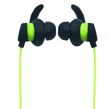 Sports Bluetooth Earphone - Black/Lime