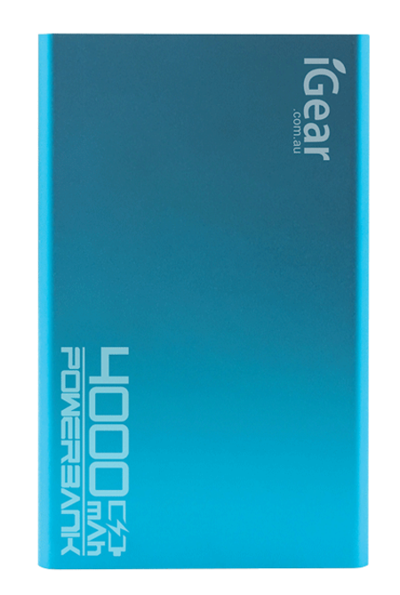 Power Bank 4000 mAh - Blue