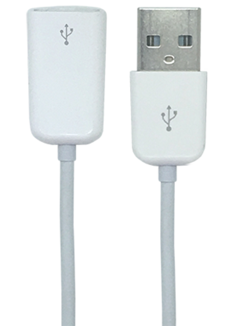 Cable Extension USB - 2m - White