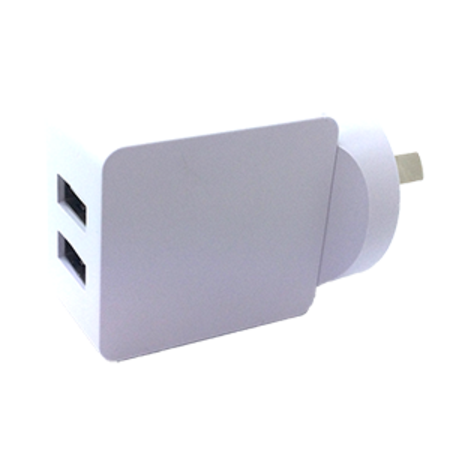 Charger 5V 3.4A Dual USB - White
