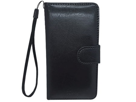 Phone Case - iPhone 6 Plus - Leather - Folio - Black