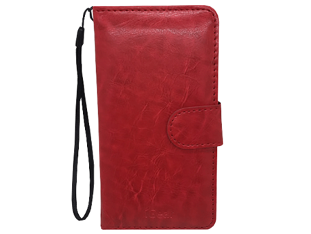 Phone Case - iPhone 6 - Leather - Folio - Red