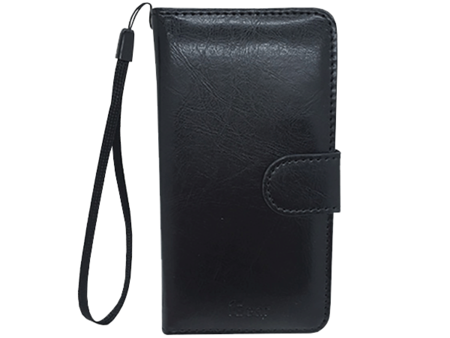 Phone Case - iPhone 5 - Leather - Folio - Black