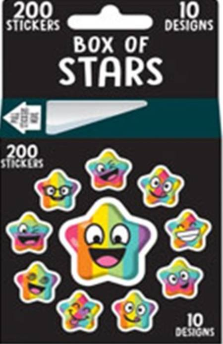 Sticker Roll 200pc Merit - 3 Assorted Styles